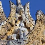Den forntida kloster fördärvar - Innwa - Myanmar Royaltyfri Fotografi