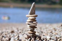 Stå hög av stenar Royaltyfri Fotografi