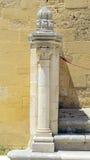 Specificera stentrappuppgången i borggården av den Swabian slotten fotografering för bildbyråer