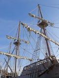 Specificerade masts Arkivfoto