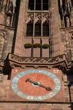 Gotisk domkyrka av Freiburg, sydlig Tyskland Royaltyfri Foto