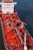 Specificerar av en tankfartyg Arkivbilder
