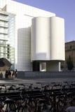 Specificerar konstmusemet i Barcelona, Spanien Royaltyfri Foto