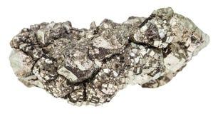 Specimen of marcasite stone white iron pyrite Royalty Free Stock Image
