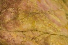 Specimen of rose quartz stone from mining industry. Rose quartz Royalty Free Stock Images