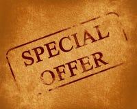 Specjalna oferta Obraz Stock