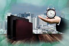 Specjalna oferta dla robić zakupy czas Obraz Stock