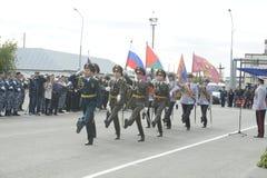 Specjalna siły policyjne OMON Zdjęcia Royalty Free