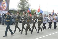 Specjalna siły policyjne OMON Zdjęcie Royalty Free