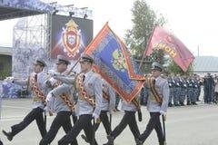 Specjalna siły policyjne OMON Obrazy Stock