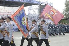 Specjalna siły policyjne OMON Obraz Stock