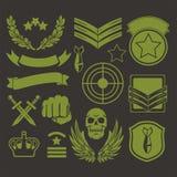 Specjalne jednostka wojskowego łaty Obrazy Royalty Free