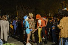 Specjalne wydarzenie - Zachodni Hollywood Halloween Carnaval Fotografia Royalty Free