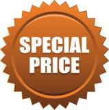 Specjalnej ceny foki znaczka odznaki brąz zdjęcia stock