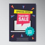Specjalnej oferty sprzedaży Super plakat Zdjęcia Stock