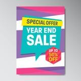 Specjalnej oferty sprzedaży Super plakat Obraz Royalty Free
