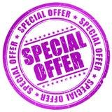 Specjalnej oferty znaczek Obrazy Stock