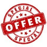 Specjalnej oferty znaczek Obraz Stock