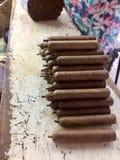 Specjalni cygara w republice dominikańskiej zdjęcie stock