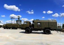 Specjalni pojazdy wojskowi Zdjęcie Stock