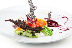 Specjalność luksusowa restauracja Obraz Royalty Free