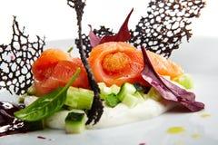 Specjalność luksusowa restauracja Zdjęcia Royalty Free
