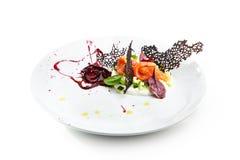 Specjalność luksusowa restauracja Zdjęcia Stock