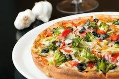 Specjalności pizzy polewy Obraz Royalty Free