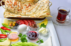 Specjalny breakfast&breakfast menu obrazy royalty free