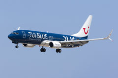 Specjalny koloru plan TUI 737 Zdjęcia Royalty Free