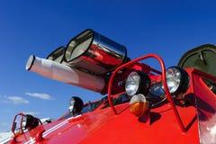 Specjalny strażaka transport Zdjęcie Royalty Free