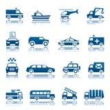 Specjalny transport ikony set Zdjęcie Stock