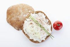 Speck-einfetten-Brot Lizenzfreie Stockbilder