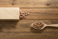 Speckled beans Royalty Free Stock Images