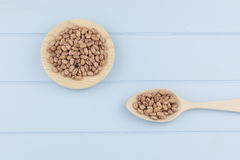 Speckled beans Royalty Free Stock Photos