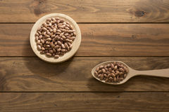Speckled beans Stock Photography