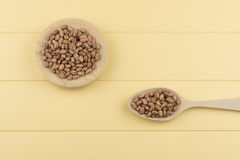Speckled beans Stock Photos