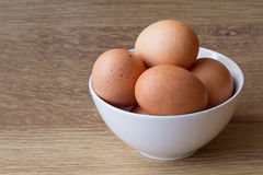 Speckled Brown Eggs Royalty Free Stock Photography