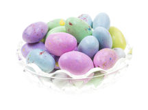 Speckled Candy Eggs Stock Image