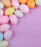 Speckled Easter Candy Stock Photo