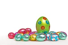Speckled Easter Egg Stock Images