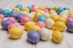 Speckled Easter Eggs Stock Photography