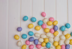 Speckled Easter Eggs Royalty Free Stock Photography