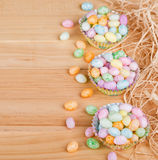 Speckled Easter Jelly Beans Royalty Free Stock Photos