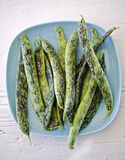 Speckled fresh beans Stock Photos