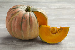 Speckled hound pumpkin Royalty Free Stock Photography