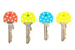 Speckles keys Royalty Free Stock Photos