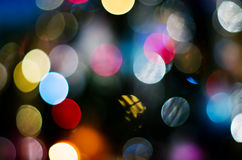 Specks. Of light different colors Stock Image