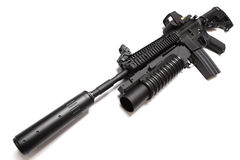 SpecOps M4A1 assault carbine. Royalty Free Stock Photography