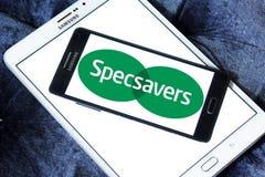 Specsavers företagslogo Royaltyfri Fotografi